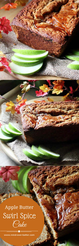 Apple Butter Swirl Spice Cake -- www.mind-over-batter.com