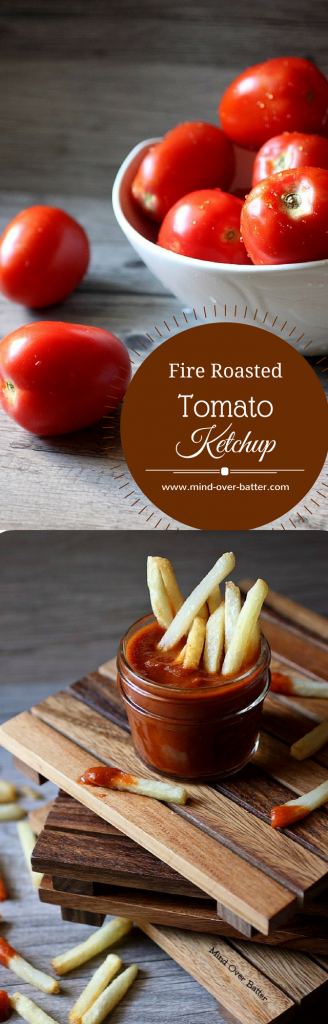 Fire Roasted Tomato Ketchup -- www.mind-over-batter.com