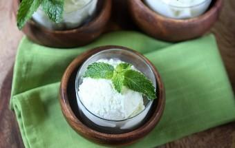Mojito Ice Cream {mind-over-batter.com}