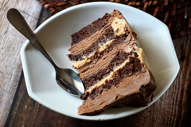 Chocolate Mousse Cream Cheese Cake