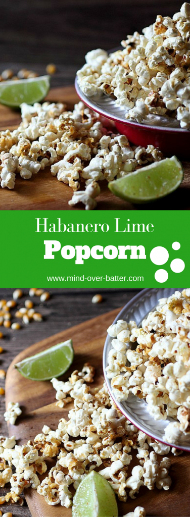 Habanero Lime Popcorn -- www.mind-over-batter.com
