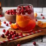 Cranberry Tangerine Fizzy!