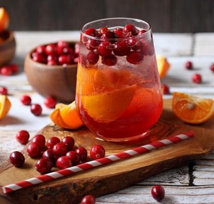 Cranberry Tangerine Fizzy {mind-over-batter.com}