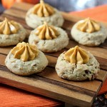 Pumpkin Pie Thumbprint Cookies