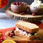 Cranberry Jam Chicken Salad Sandwich