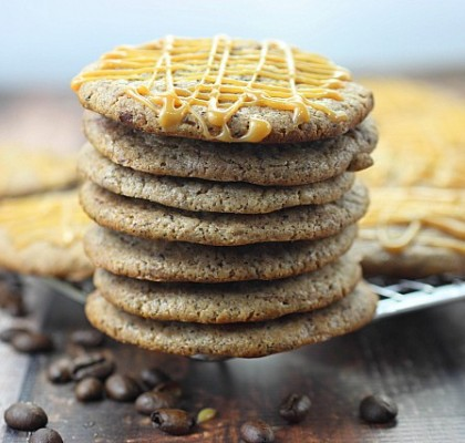 Caramel Macchiato Cookies {mind-over-batter.com}