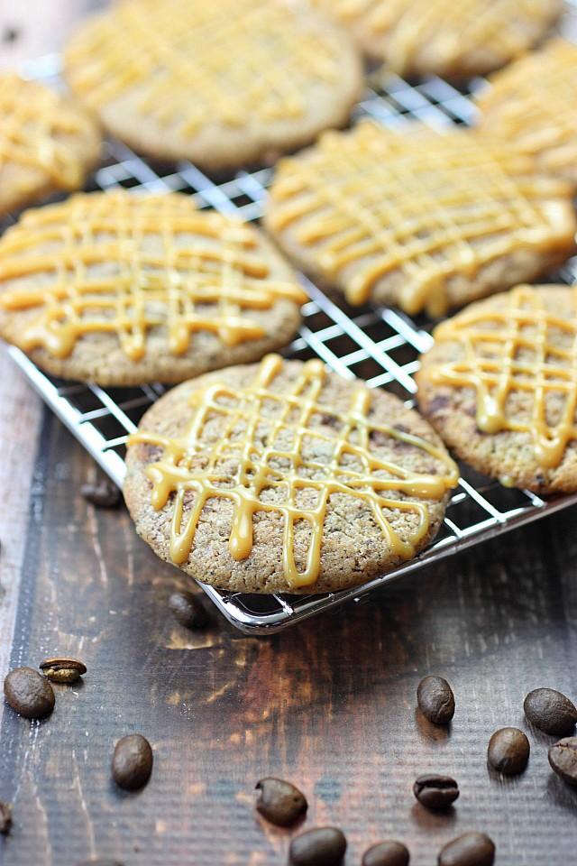 Caramel Macchiato Cookies {mind-over-batter.com}