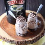 Bailey's Irish Cream Mini Cheesecakes