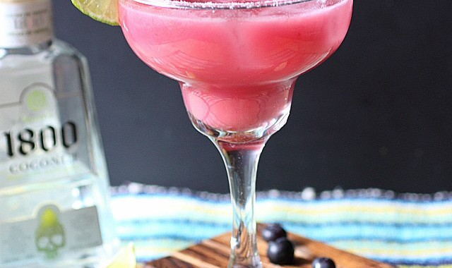 Blueberry Coconut Margarita