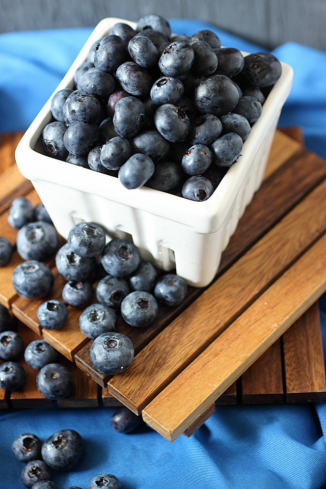 Blueberry Coconut Pancakes {mind-over-batter.com}
