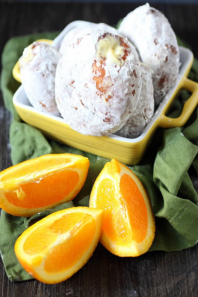 Creamsicle Doughnuts {mind-over-batter.com}