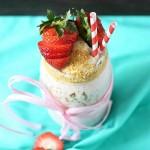 Strawberry Cheesecake Milkshake
