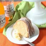 Hard Orange Soda Bundt Cake