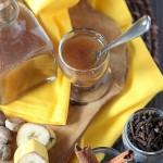 Spiced Creme de Banana Liqueur