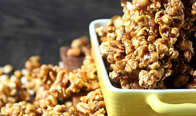 Banana Maple Caramel Corn