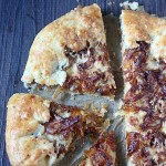 Caramelized Onion and Gruyère Galette