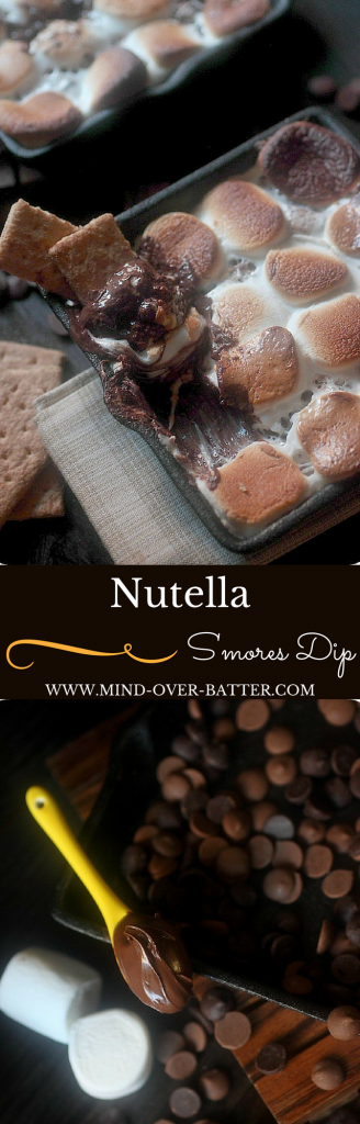 Nutella S'mores Dip -- www.mind-over-batter.com