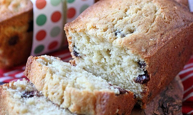 Chocolate Chip Cream Cheese Pound Cake
