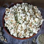Homemade Ranch Mix Popcorn