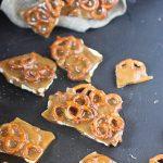 Spiced Toffee Pretzel Bark