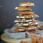 Spiced Toffee Pretzel Bark