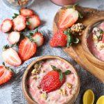 Strawberry Cream Oatmeal